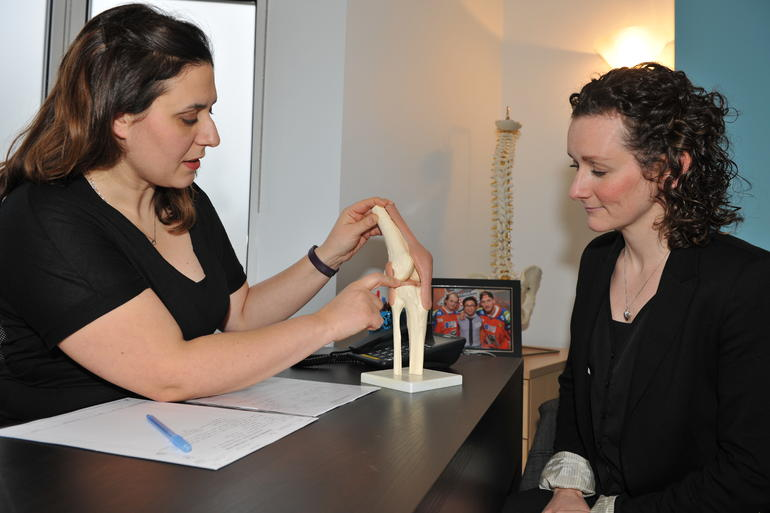 Knee Pain can be alleviated with chiropractic treatment